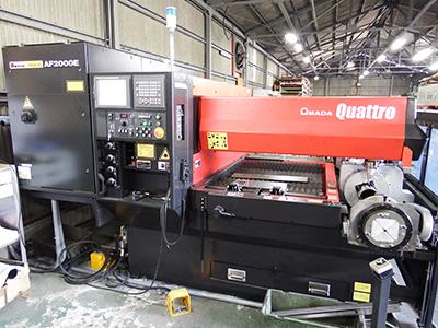 福山市では2社目となる「レーザマシン quattro AF2000E」を導入しました。